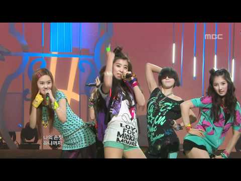 4Minute - Hot Issue, 포미닛 - 핫이슈, Music Core 20090725