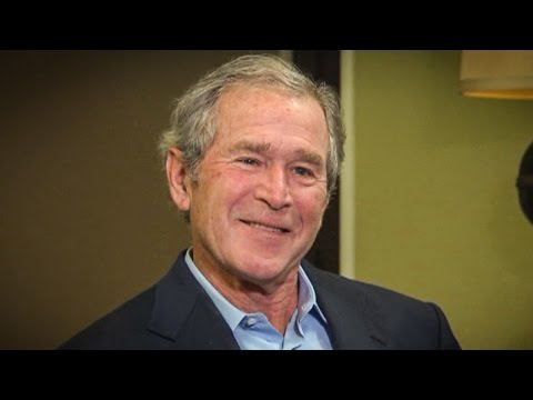 "George W. Bush Describes Trump Inaugural Address As ""Some Weird Shit"""