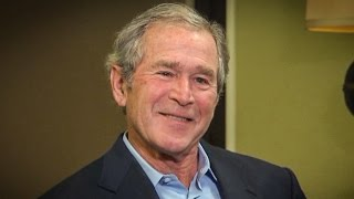 """George W. Bush Describes Trump Inaugural Address As """"Some Weird Shit"""" - The Ring Of Fire"""