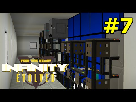 ftog S3E7 - Logistics Pipes sorting and storage - FTB Infinity Evolved (Expert Mode)