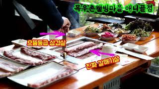일산 고기맛집 한우 삼겹살은 목우촌웰빙마을 애니골점