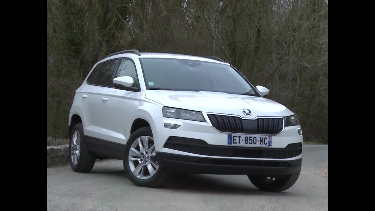 essai skoda karoq 1 0 tsi 116 dsg7 ambition 2018 youtube. Black Bedroom Furniture Sets. Home Design Ideas