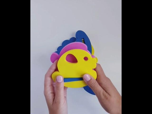 ElBascoToys 03-002 Игрушка конструктор для купания Семейство рыбок