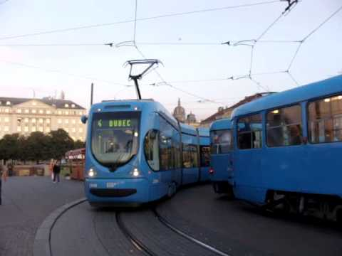 public transport in Zagreb part 1