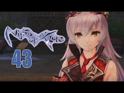 Nights Of Azure Part 43 - PS4 Let's Play Walkthrough - I was Finally Able To Accept Myself