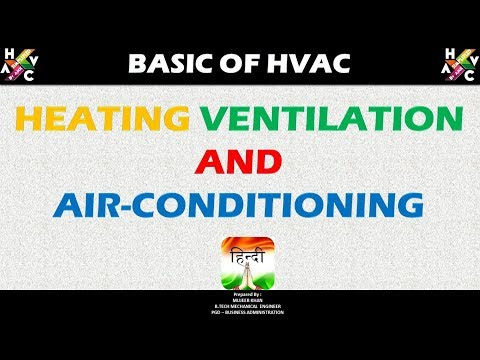 Basics of HVAC - (Heating Ventilation and Air Conditioning)