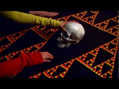 Scary Sierpinski Skull Time