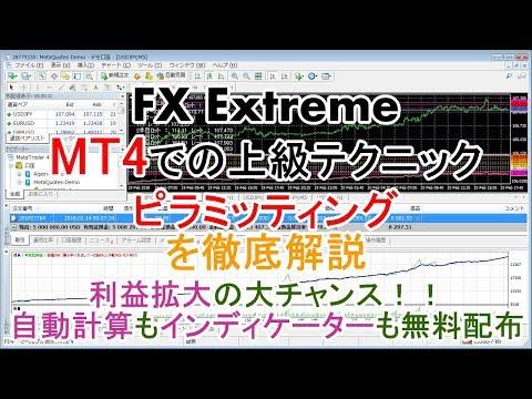 【FX Extreme】解説 FX上級ガイド#004 ピラミッティング