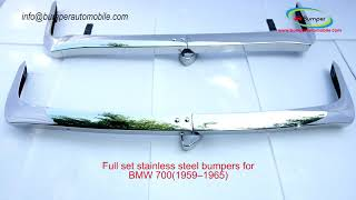BMW 700 (1959–1965) bumpers