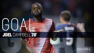 MNT vs. Costa Rica: Joel Campbell Second Goal - Nov. 15, 2016