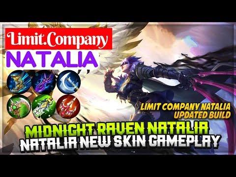 Midnight Raven Natalia, Natalia New Skin Gameplay [ Natalia Limit Company ] Limit.Company Natalia