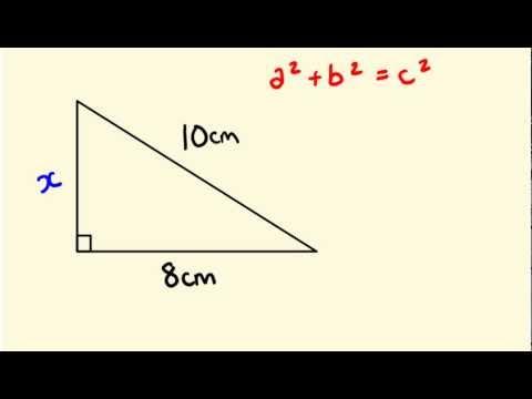 Pythagorus' Theorum - Math Lessons - sides