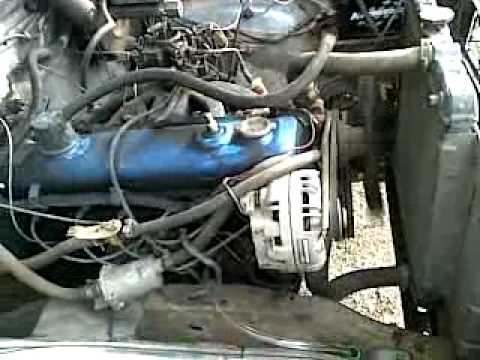 hqdefault dodge power wagon 225 slant six old start youtube  at bayanpartner.co