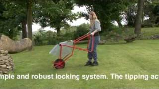 Busy Barrow - The Super Wheelbarrow - Ergonomic Designed Gardening Wheelbarrow