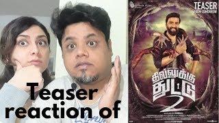 #Santhanam #Shabir #DhillukuDhuddu2 Teaser 02 Reaction|Foreigner Reaction|North Indian Reaction|