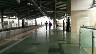 Mumbai Metro Train    Mumbai Metro Station During Rains Monsoon  HD
