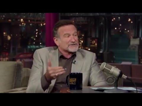Robin Williams Letterman 2010