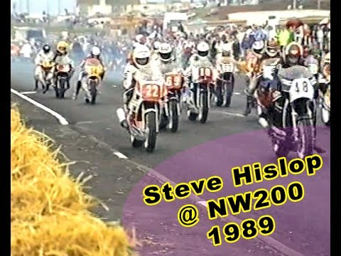 Steve Hislop wins the Superbike Race @ North West 200 NW200 1989