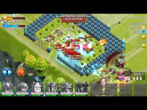 Castle Clash -  Impster Open Lucky Chest