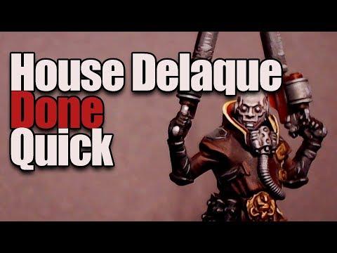 Necromunda House Delaque, Fast & Easy