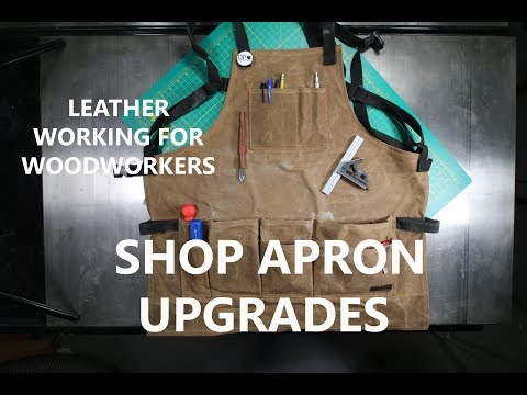 Upgrading My New Shop Apron - A (Brief) Foray Into Leather Working