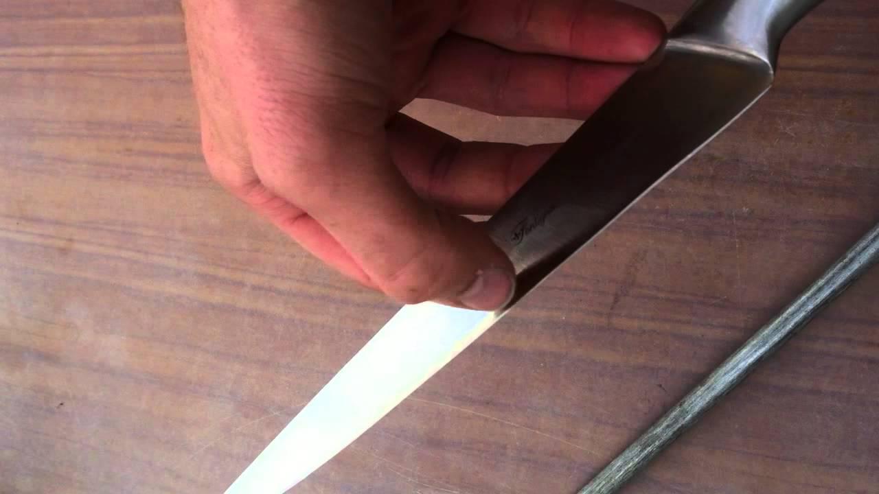 Comment bien affiler ses couteaux conseils accessoires de cuisine youtube - Comment bien aiguiser un couteau ...