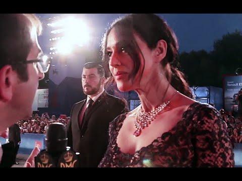 Monica Bellucci on the red carpet at Venice Film Festival