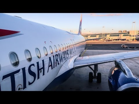 TRIP REPORT | British Airways | Airbus A320 | Rome - London Gatwick (FCO-LGW) | Economy Class