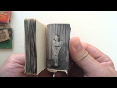 Striptease Flipbook: The Model And The Mouse