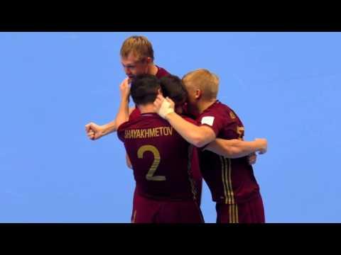 Иран - Россия, 12 финала Чемпионата Мира по мини-футболу в Колумбии 2016