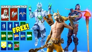 *NEW* Skins & Emotes..! (FREE Rewards, Borderlands, White Knight LEAKED) Fortnite Battle Royale