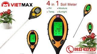 Máy đo PH và độ ẩm đất ATM-300A - Việt Max