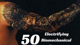 50 Electrifying Biomechanical Tattoos