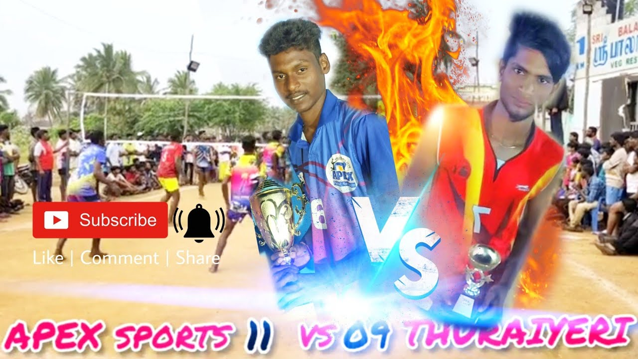Download APEX SPORTS CLUB VS THURAIYERI SPORTS CLUB (02.01.2021) VOLLEYBALL MATCH 🔥🏐🔥 #volley #match #time