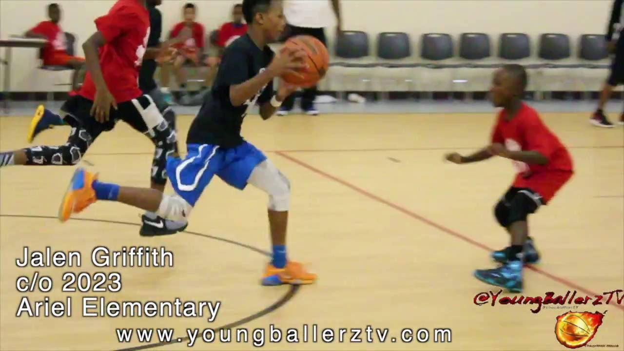 YoungballerzTV :Jalen Griffith c/o 2023 Top Ranked Dominant Guard