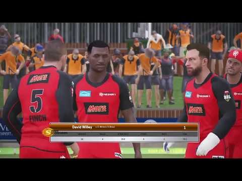 BBL T10 in Ashes cricket PS4 - Game 7 - Perth Scorchers v Melbourne Renegades