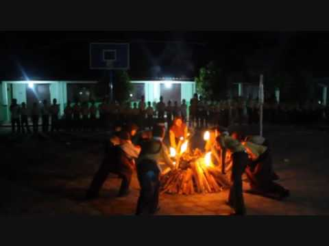 The ceremony and the song Fire Scout anf guide