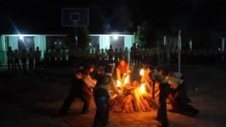 Upacara dan Lagu Api Unggun Pramuka