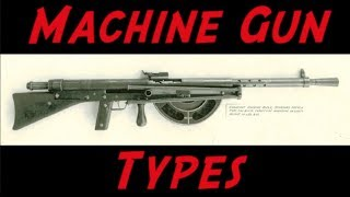 Machine Gun Terminology - LMG, MMG, SAW, LSW, HMG, GPMG