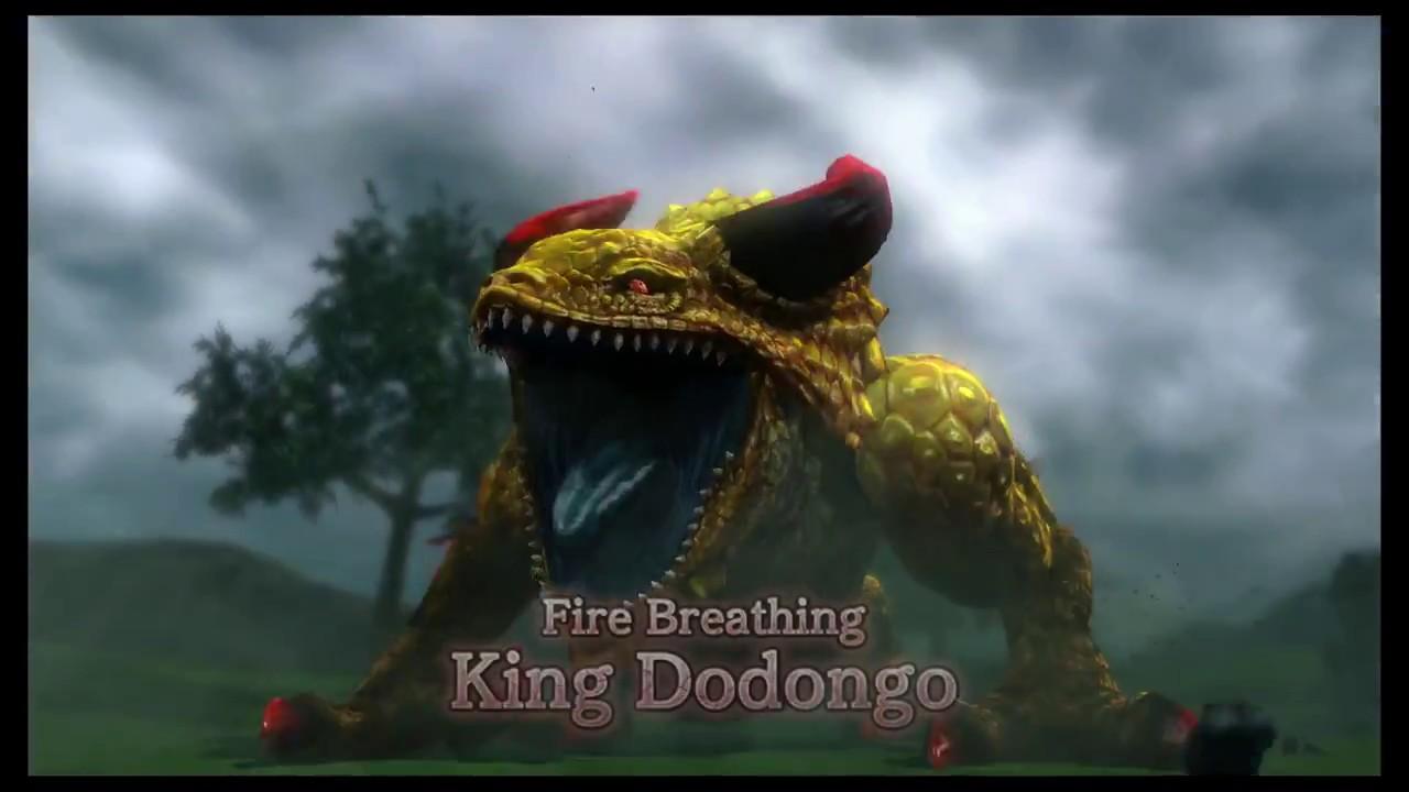 Hyrule Warriors Giant Boss King Dodongo 2 Hyrule Field The Armies Of Ruin Nintendo Wii U Youtube