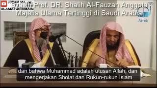 untuk LDII, Mekkah Madinah berseru (Tinggalkan akidah takfirimu yang sembrono)