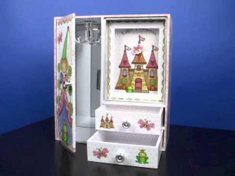 Princess Castle Musical Jewelry Box