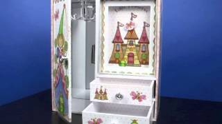 Princess Castle Musical Jewelry Box