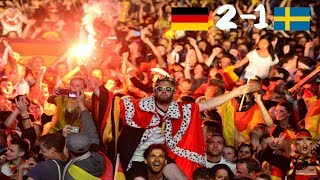 German Fans Reaction To Kroos's Goal || Germany 🇩🇪2 -  1 Sweden 🇸🇪|| World Cup 2018