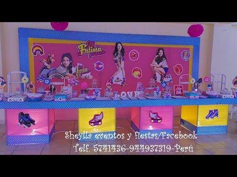 Soy luna decoraci n para fiesta infantil presentaci n de for Decoracion de mesas dulces infantiles