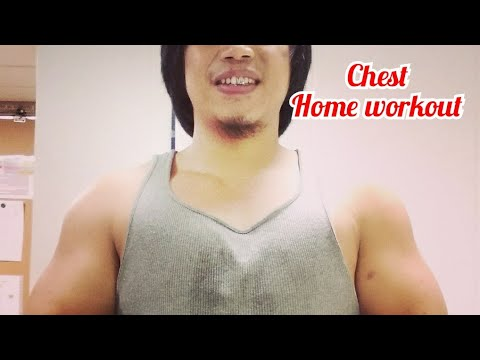 Chest workout at home(no equipment needed)