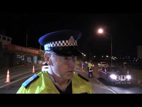 Dunedin police check point