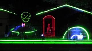 "2013 Halloween Light Show ""Children of the Sun"""