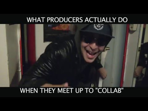 """What Producers Really Do When They Meet Up To """"Collab"""""""