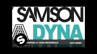 Tara McDonald vs Sidney Samson - Dynamite (Club Mix)